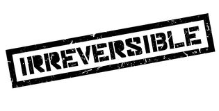 Irreversible rubber stamp Stock Photography