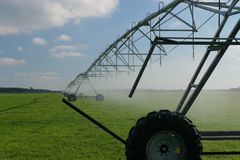 Irrigação 2 Fotografia de Stock