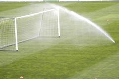 Irrigação de sistema de extinção de incêndios Fotos de Stock Royalty Free
