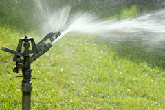 Irrigatie Stock Afbeelding