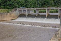 Irrigatiedam Royalty-vrije Stock Afbeelding