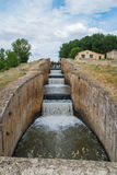 Irrigatiekanaal Stock Afbeeldingen