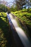 Irrigatiesloot voor water het channeling Royalty-vrije Stock Afbeelding