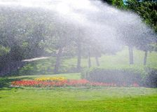 Irrigation Royalty Free Stock Photography