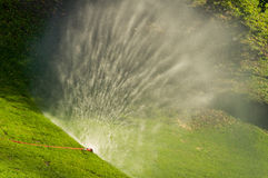 irrigation Photographie stock libre de droits