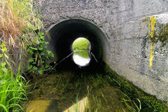 Irrigation canal Stock Photography