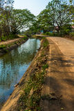 Irrigation canal Stock Photos