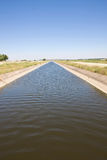 Irrigation channel Royalty Free Stock Photography