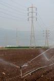 Irrigation de culture photos libres de droits