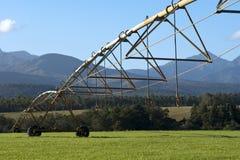 Irrigation de pivot de centre image stock