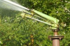 Irrigation de stationnement image libre de droits