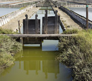 Irrigation Ditch Stock Photo
