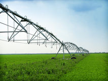 Irrigation equipment Royalty Free Stock Photos