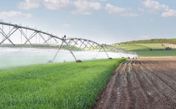Irrigation equipment Royalty Free Stock Photo