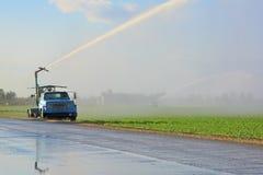 Irrigation Farm Land Stock Image