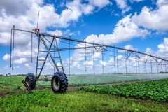 Irrigation Farm Land Stock Photography