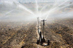 Irrigation in Israel Royalty Free Stock Photos