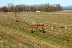 Irrigation mobile. photos stock