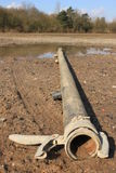 Irrigation pipe Stock Photography