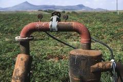 Irrigation pipe Stock Photos
