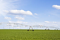 Irrigation pivot Royalty Free Stock Images