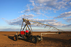 Irrigation pivot Stock Images