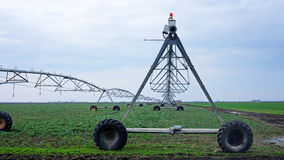 Irrigation pivot Royalty Free Stock Images