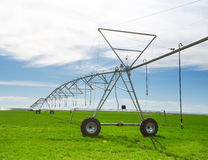 An irrigation pivot Stock Photography