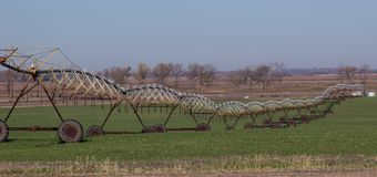 Irrigation Rig royalty free stock images