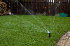 Irrigation system royalty free stock images