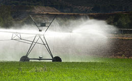 Irrigation Systems Royalty Free Stock Images