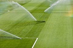 Irrigation turf Royalty Free Stock Photography