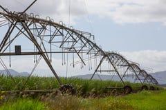 Irrigator aérien de jet - vue de côté image libre de droits