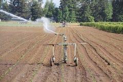 Irrigazione ad alta pressione Fotografia Stock Libera da Diritti