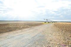Irrigazione del Mobile del campo Fotografia Stock