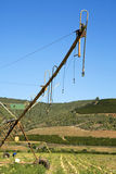 Irrigazione del perno Fotografia Stock Libera da Diritti