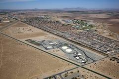 Irrigazione e formazione di Yuma Immagine Stock Libera da Diritti
