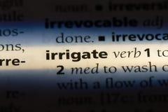 irrigeer stock foto's