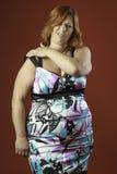 Irritado pelo vestido Imagens de Stock Royalty Free