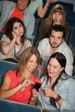 Irritated Audience Stock Image