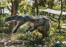 Irritator-早白垩纪/110百万年前 在声浪 库存图片