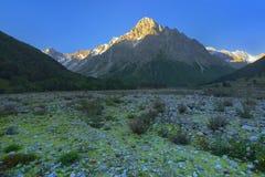 Irrompa Caucaso Immagini Stock