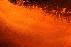Irrupção do metal de ebulição Imagens de Stock Royalty Free