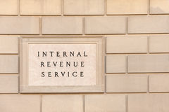 IRS building Royalty Free Stock Image