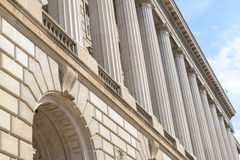 IRS Building. In Washington DC Royalty Free Stock Photography
