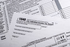 IRS Form 1099-B: Proceeds Frim Broker and Barter Exchange Transa. A shot of IRS Form 1099-B: Proceeds Frim Broker and Barter Exchange Transactions tax form Royalty Free Stock Image