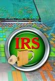 IRS komputery ilustracji
