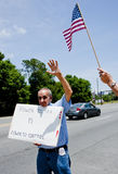 IRS Protest Royalty Free Stock Photos