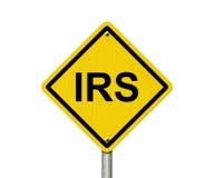 IRS Waarschuwingsbord Royalty-vrije Stock Fotografie