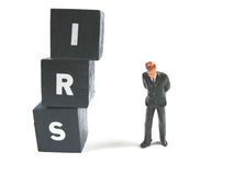 The IRS is waiting for you Royalty Free Stock Image